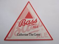 Beer Brewery Coaster >< BASS Brewing Ale ~ Catherine The Great Quiz ~ Old Pipsen