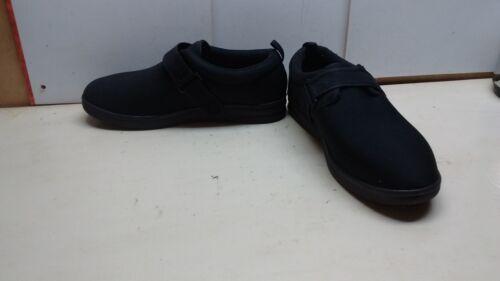 14m Comfort orthopedische Dr schoenen zwarte synthetische Carter diabetische slip heren CdxoerB