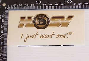 GENUINE-VINTAGE-HOLDEN-HSV-SPECIAL-VEHICLES-SOUVENIR-WINDOW-STICKER-CAR-DECAL