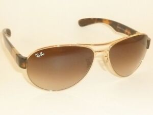 3030b72233a New RAY BAN Sunglasses Gold Frame RB 3509 001 13 Gradient Brown ...