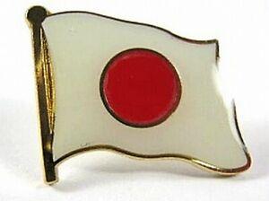 Japan-Flaggen-Pin-Anstecker-1-5-cm-Neu-mit-Druckverschluss