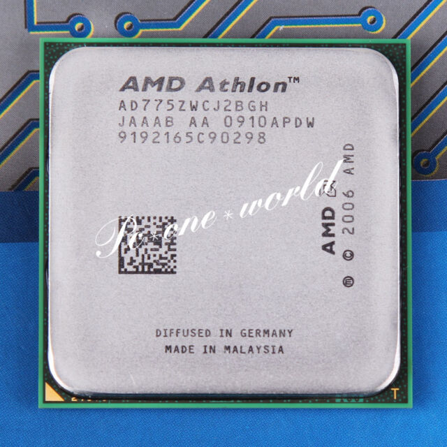 AMD ATHLON 7750 DUAL CORE DRIVERS WINDOWS 7 (2019)