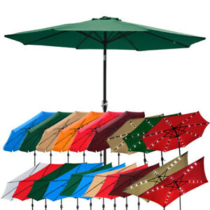 2-5m-2-7m-3m-Round-Square-Garden-Parasol-Shade-Outdoor-Patio-Umbrella-Crank-Tilt