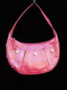 LONGCHAMP sac à main cuir rose nacré, série Galatée   eBay b29a7726a98a
