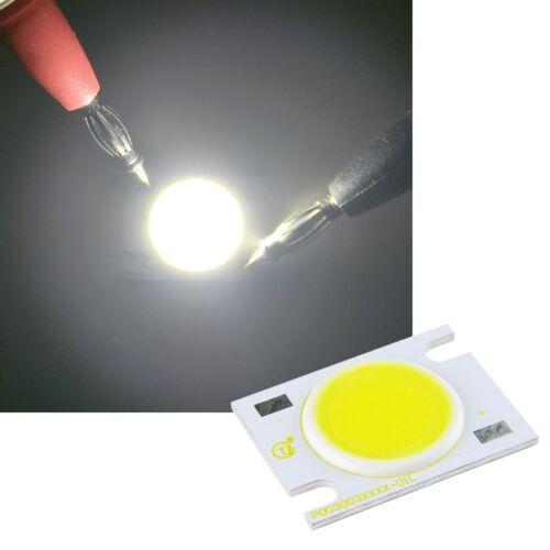 3 Watt COB HighPower LED WEIß 250-300lm Hochleistungs Emitter 3 W High Power