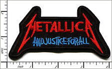 "20 Pcs Embroidered Iron on patches Metallica Music 2.16""x3.9.4"" AP056sA"