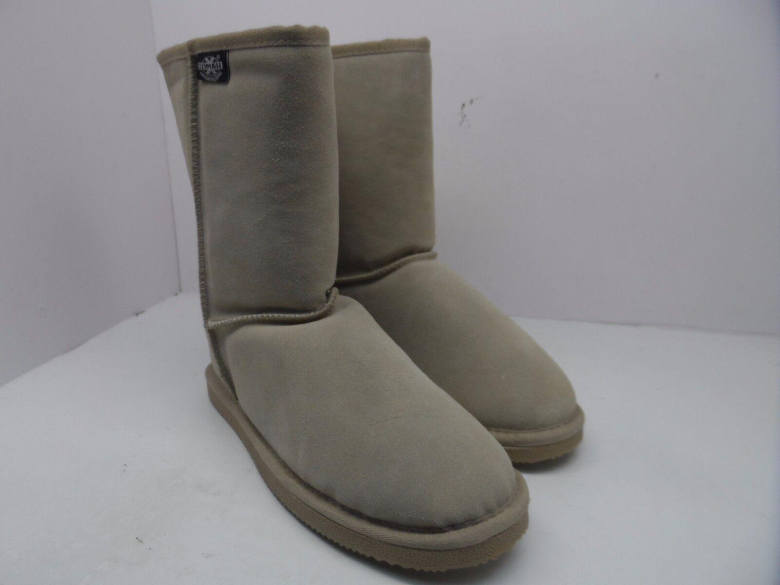 Climate X Women's Short Faux Fur Lined Boots Sands Size 7M