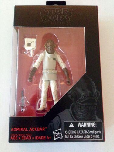 "STAR WARS BLACK SERIES ADMIRAL ACKBAR WALMART 3 3//4/"" EXCLUSIVE"