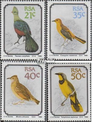 Fine Used complete.issue. Cancelled 1990 Birds Keep You Fit All The Time South Africa 800-803