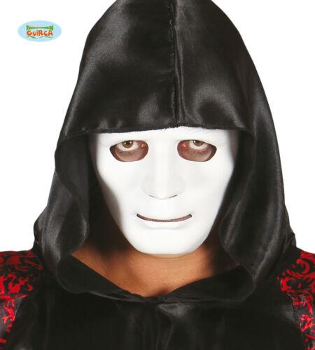 GUIRCA Maschera bianca halloween carnevale adulto mod 2658