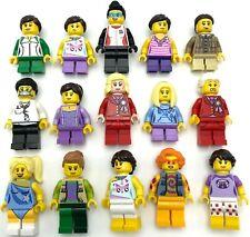 ☀️NEW LEGO LOT OF 10 NEW Random GIRL FEMALE MINIFIGURE FIGURES WOMEN CITY TOWN