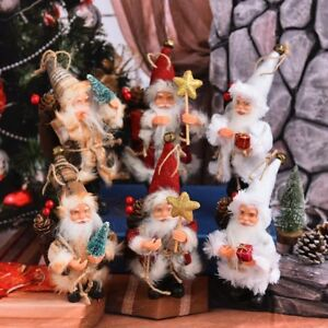 Santa-Claus-Doll-Toy-Christmas-Tree-Ornaments-for-Home-Gift-New