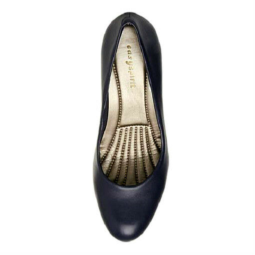 Easy Spirit ROTefine navy Leder pump 2 1/2 inch heels heels heels sz 9 Med NEW 538248