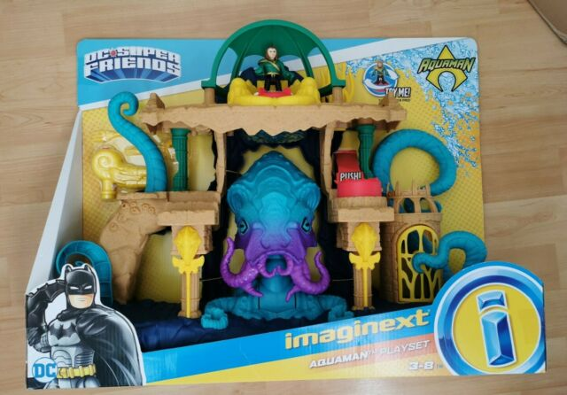 NEW Fisher Price DC Super Friends Aquaman Playset imaginext