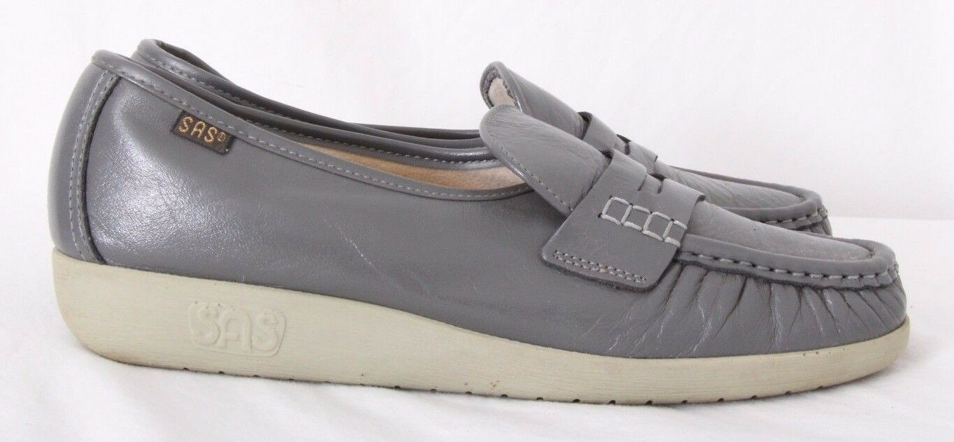 SAS H8525706 Classic Tri Pad Comfort Wedge Moc Penny Loafers Women's US 9S