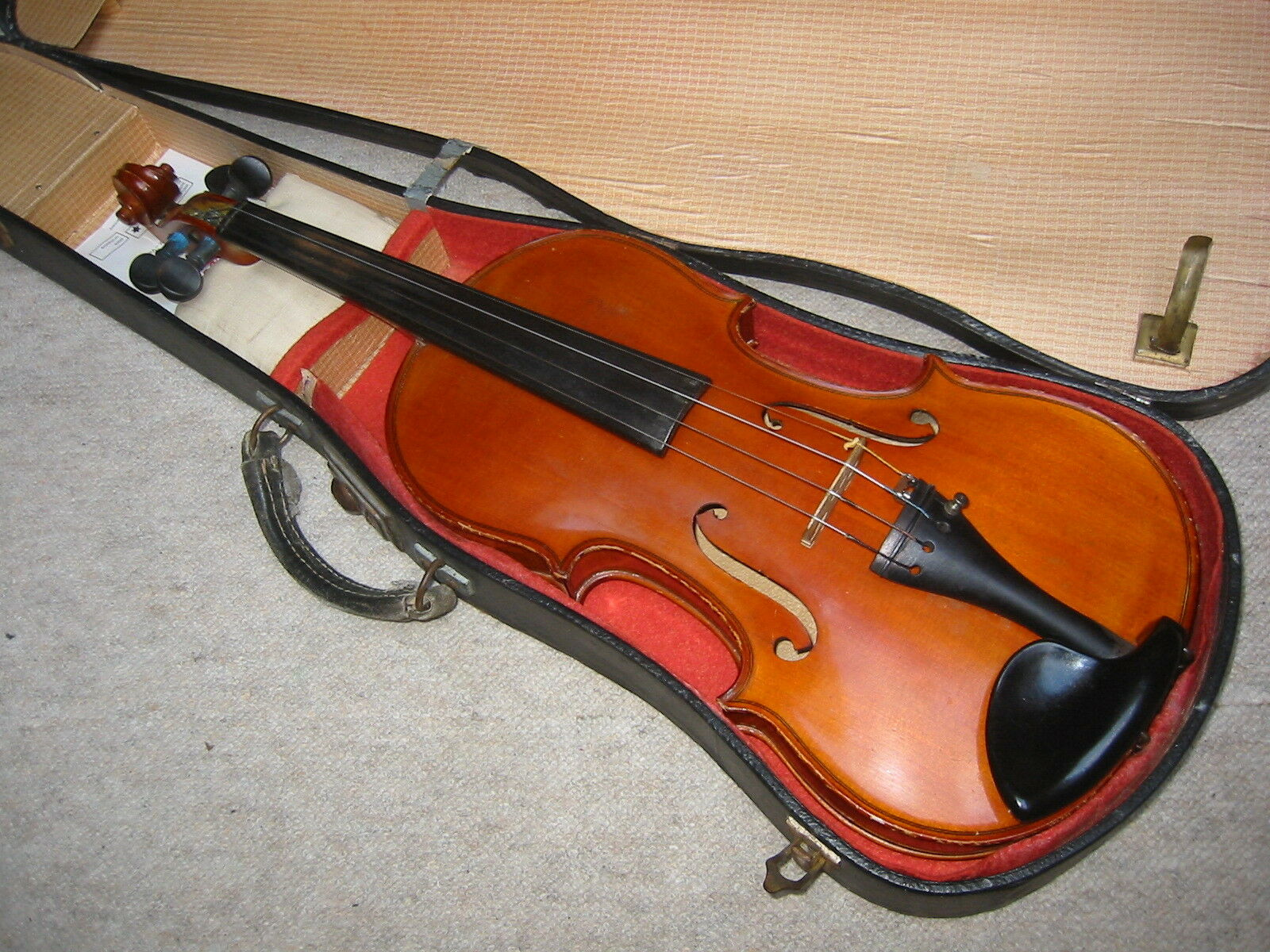 Interesante, Interesante, Interesante, agradable y antiguo violín 4 4 Violon 33f584