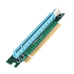 PCI-Express 16x Riser Card 90 degree Angle Adapter Card 1U Computer Server