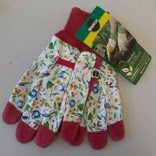 1Pair Gardening Women/'s Soft Cotton Jersey Garden Gloves One Size 23cm TD