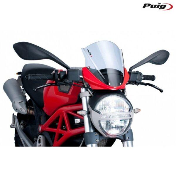 Voorzichtig Puig 5650w Cupolino Racing Trasparente Ducati 696 Monster / Abs 2008-2014