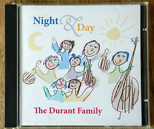 The Durant Family-Night and Day—American Folk Music CD for All Ages