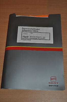 Schlussverkauf Werkstatthandbuch Reparaturleitfaden Seat Alhambra 1996 Motronic Einspritzanlage