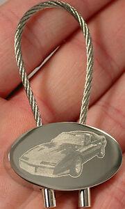 Preiswert Kaufen Pontiac Firebird Schlüsselanhänger Fotogravur Keyring Bildgravur Gravur Automobilia