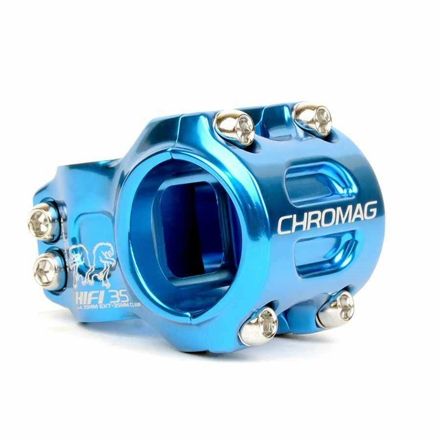 Chromag HiFi Stem 1-1 8''  L  35mm 0 Dia  35mm blueee  counter genuine