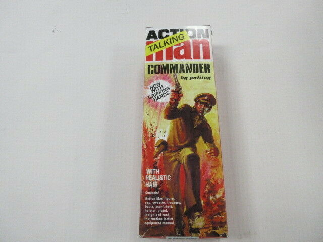PALITOY ACTION TALKING MAN COMMANDER IN THE BOX 2007