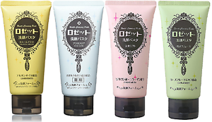 Rosette-Cleansing-Paste-Face-Wash-120g-New-4Tipes-chooseable-Free-Shipping
