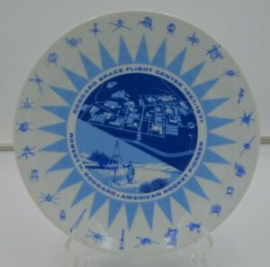 Vintage-Goddard-Space-Flight-Ctr-10th-Anniversary-1961-1971-Plate