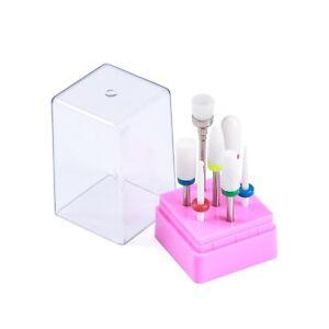 7-Pcs-Ceramic-Nail-Drill-Bit-Electric-Manicure-Machine-3-32-034-Shank-Cuticle-Clean