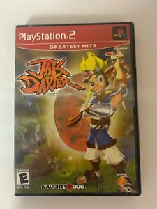 Jak And Daxter Play Station 2 Game Used A07