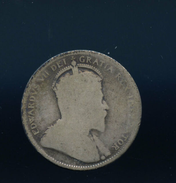 1904 Canada 25 Cents AB407