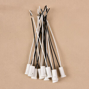 10x-G4-Base-g4-zocalo-de-ceramica-g4-Holder-Head-Wire-Connector-10cm-UPSP