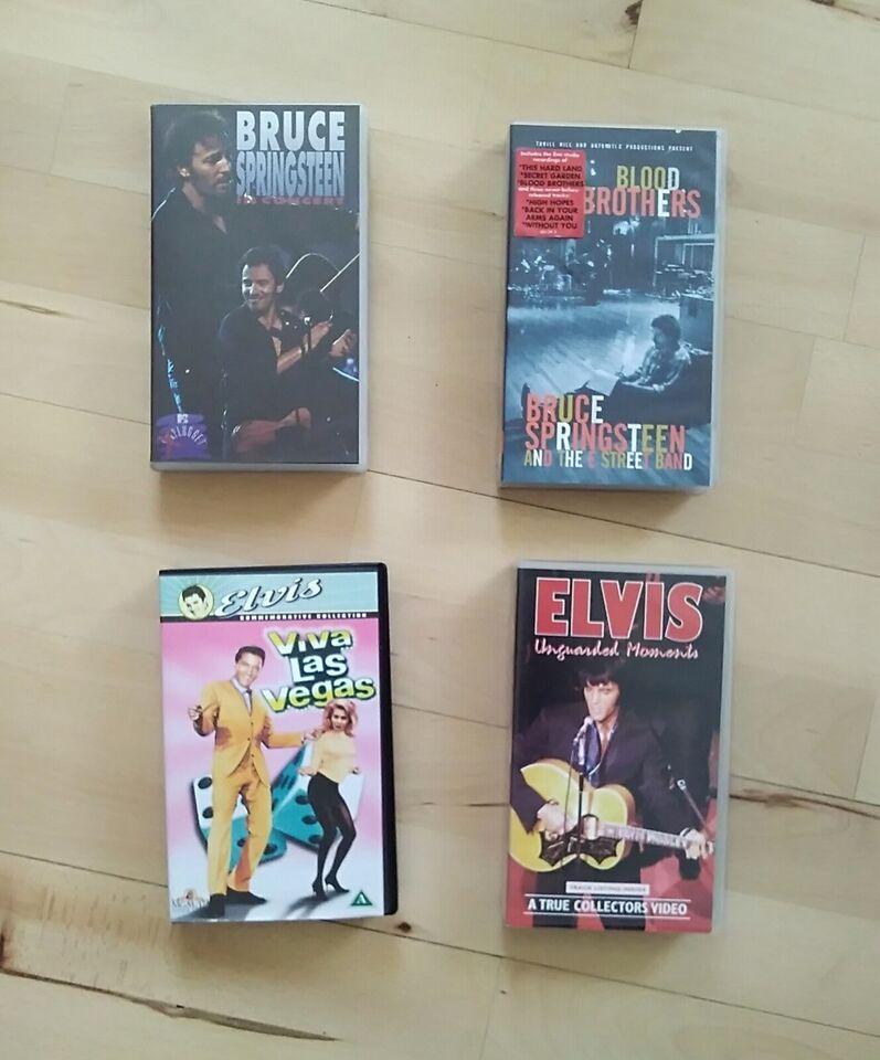 Anden genre, 4 x VHS