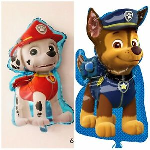 31 paw patrol puppy chase marshal helium children s party foil