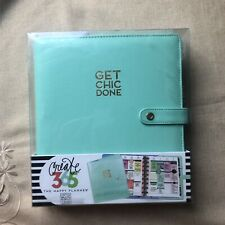 The Happy Planner Deluxe Cover Mint Classic Size Me Amp My Big Ideas Get Chic Done