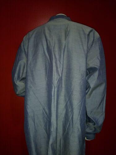 Hommes Chemise Gris et Bleu Ciel boutons 100/% coton Enyce Sean Combs Co