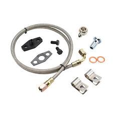 Turbo Oil Feed Line Kit For Mercedes Benz 300sd 300cd 300d Om617 Garrett Ta0301