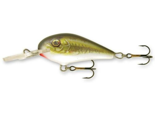 *G01-* ide trout chub lures floating Goldy Fighter 3,5cm