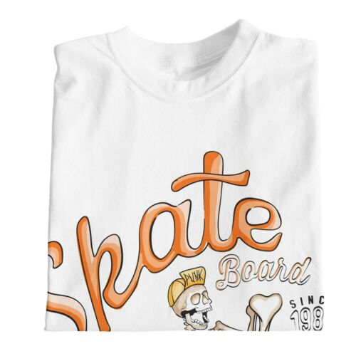 1Tee Bambine Skateboard Scheletro Skater NYC T-shirt