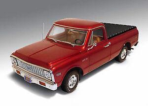 1:18 Autoroute 61 - 1972 Chevrolet C-10 Pick-up Bordeaux # 50906