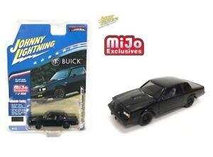 Johnny-Lightning-1987-Buick-Grand-National-GNX-Black-1-64-Diecast-Car-JLCP7178