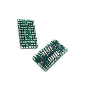10PCS-SOP24-SSOP-24-TSSOP-24-a-DIP24-PIN-2-54mm-scheda-di-circuiti-stampati-Piastra-Adattatore
