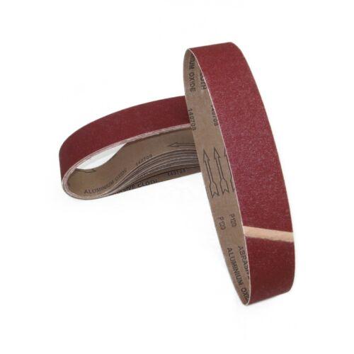 ECKRA® Schleifbänder 50 x 1020 mm Schleifpapier Korn und Menge wählbar