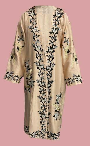 Ex Topshop Floral Kimono Dressing Gown Bed Jacket Size XS L