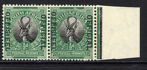 SOUTH AFRICA 1929-31 ½d STOP AFTER 'OFFISEEL' ON AFRIKAANS SG O7b MNH.