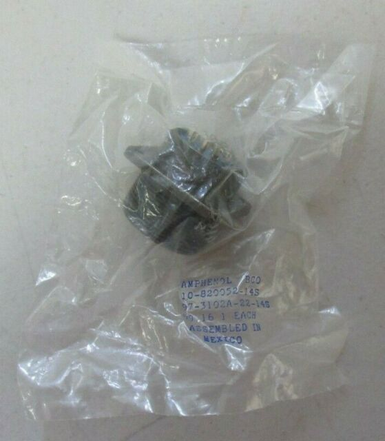 Amphenol Part Number 97-3102A-22-14S