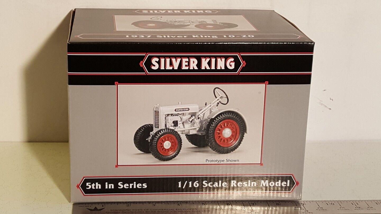 argento re 1 16 diecast metal da fattoria trattore collezione da SpecCast