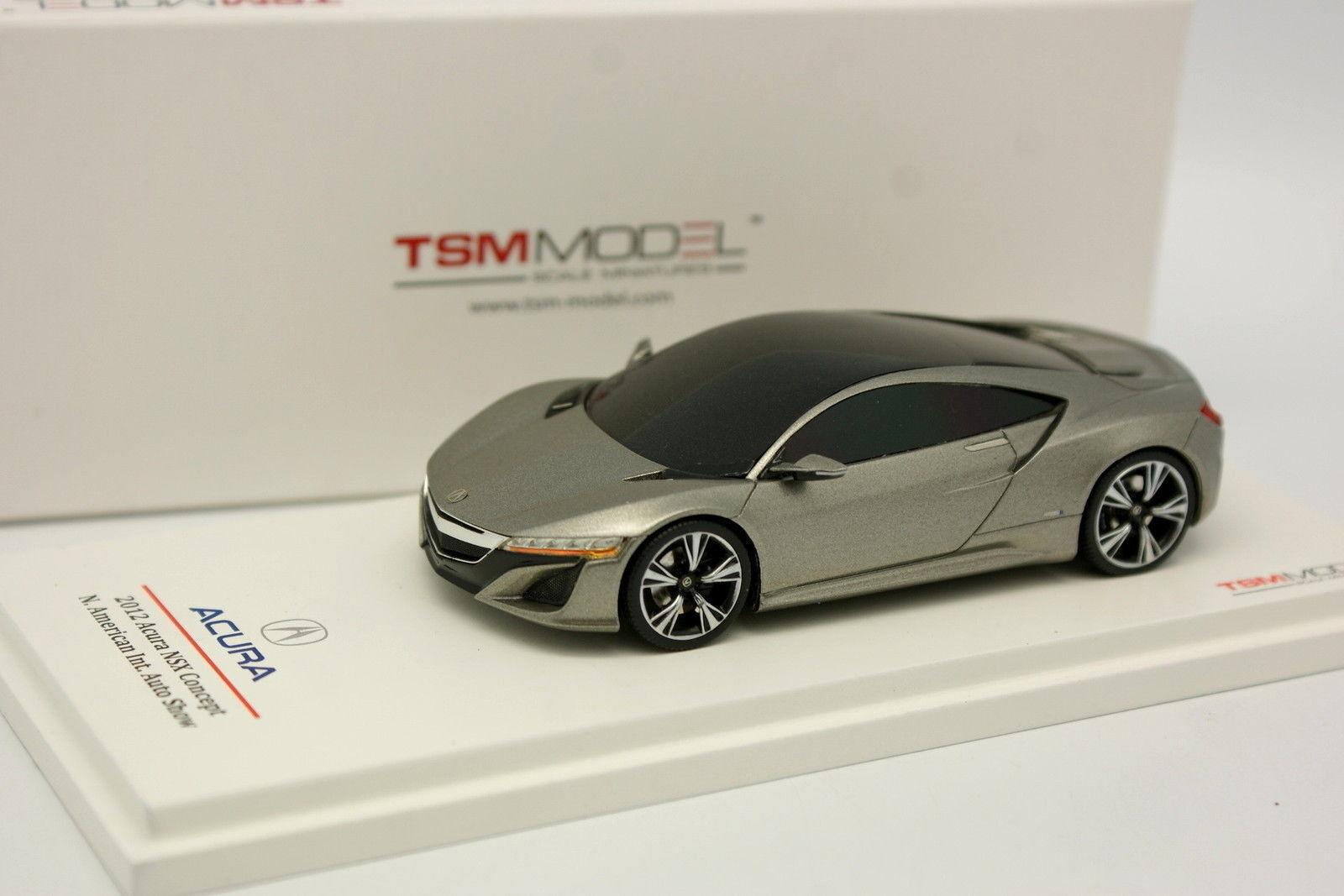 TSM Truescale 1/43 - Acura NSX Concept 2012  American Motor Show | Une Forte Résistance à Chaleur Et Résistant  | Facile à Nettoyer Surface  | Supérieurs Performances  | Brillance De Couleur